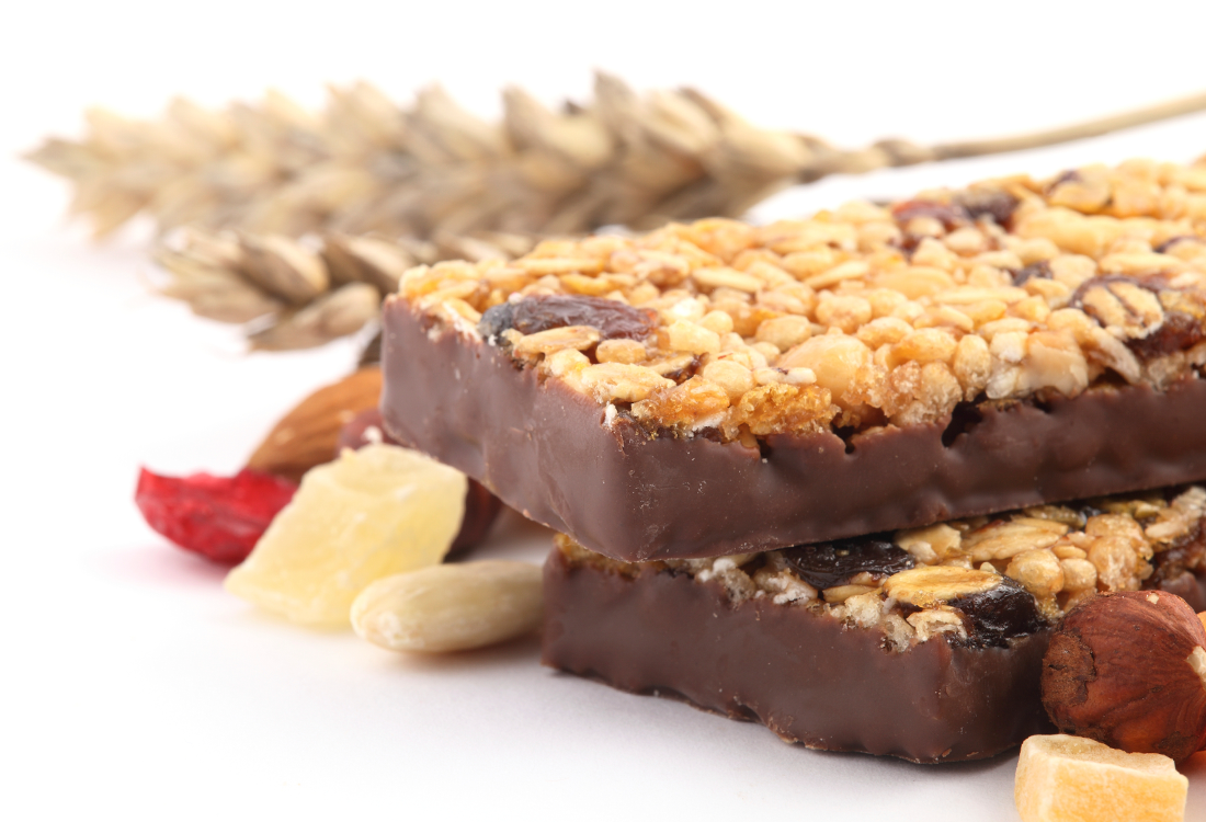 Granola Protein Bar With Ingredients