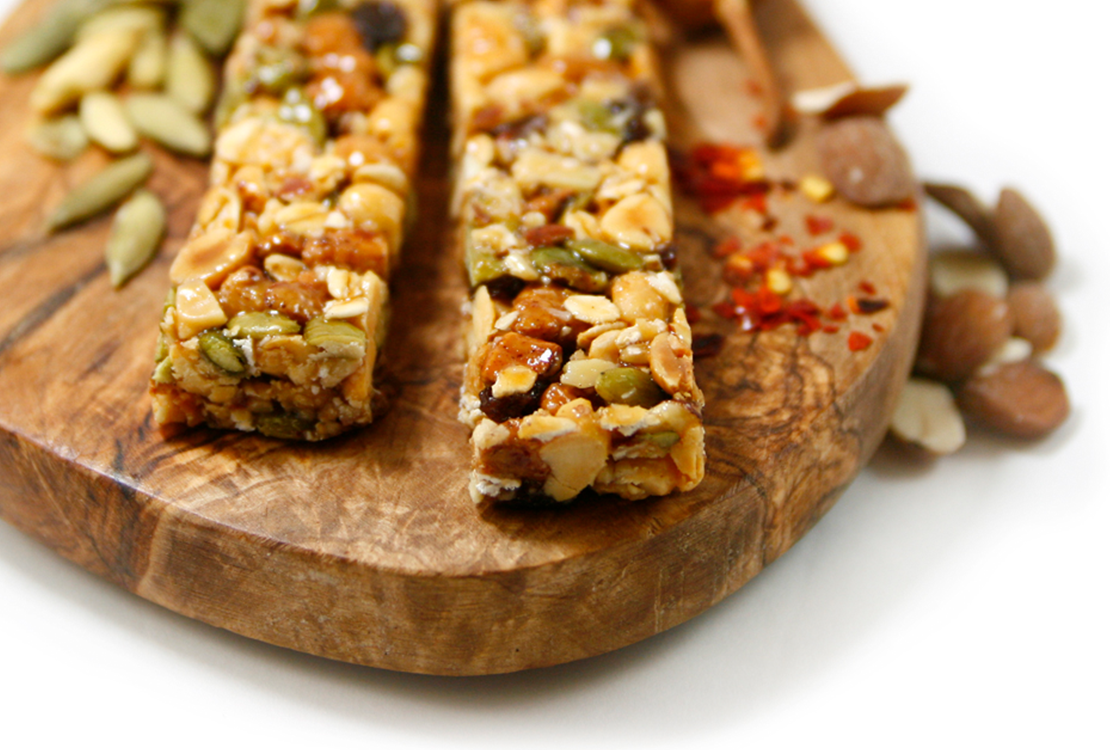 Swwet And Savory Granola Protein Bars